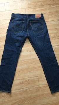 Levi's 501 button fly jeans  Burnaby, V5H 2M2