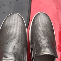 Pair of black leather slip-on shoes Upper Marlboro, 20774