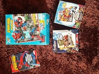 assorted Spider-man and Avengers boxes Surrey, V3R 1G6