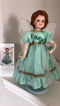 girl in teal dress doll Rowlett, 75088