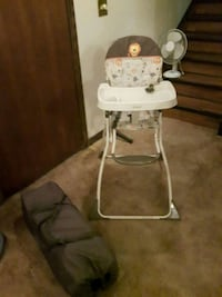 High Chair with Matching Playpen  Calgary, T3K 1R5