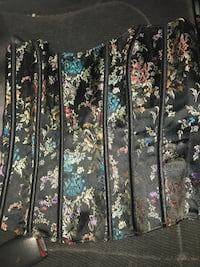 black and white floral print curtain Reno, 89503