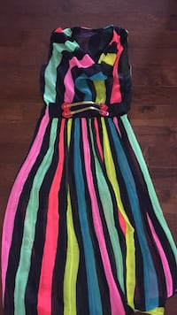 Colourful Maxi dress  Windsor, N8P 1Y8