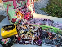 Lot of Ed Hardy scarves, tote bag & sunglasses New York, 11364