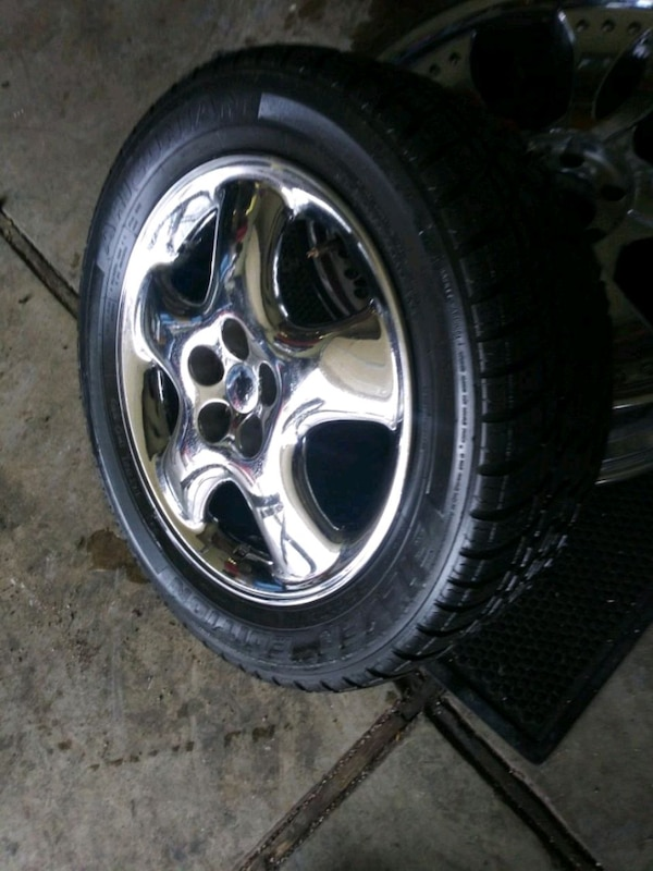 Used Tires Portland >> Used Set 4 Tires And Wheels 205 55 16 Tires And Wheels For