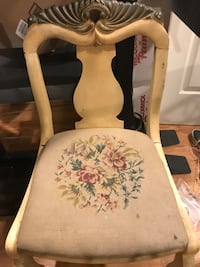 Antique embroidered chair  Rockville, 20850