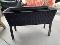 Patio Planter, used one year.  Paid $129, lightweight but sturdy. Great for a patio garden Fairfax, 22031