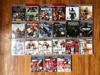 Sony PS3 game case lot Vancouver, V6E 1N9