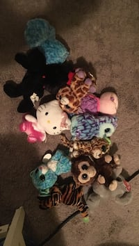 assorted animal plush toys Selkirk, R1A