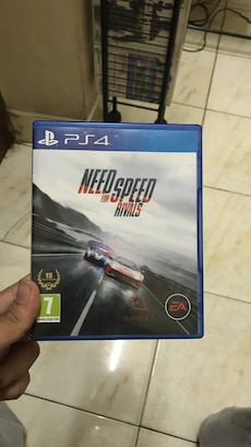 Sony PS4 Need For Speed Rivals game case