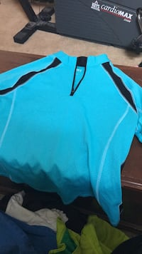 teal and black Nike pullover hoodie 28 mi
