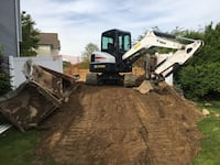 Excavation and machine service. Dump trailer and flatbed service Central Islip