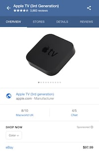 Apple TV 3rd generation  Brookhaven, 30319