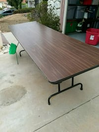 8 foot fold up table Chino Hills, 91709