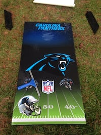 Carolina Panthers Cornhole Boards  Wilmington, 28412