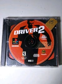 Driver 2 playstation ps1 game.