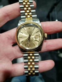 Gold Rolex Oyster Perpetual DateJust River Edge, 07661