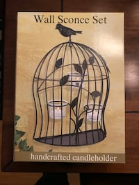 Bird Cage Wall Sconce