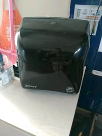 Battery powered paper towel dispenser Edmonton, T5E 6N6