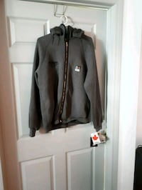 black and white zip-up jacket Edmonton, T5L 0S3