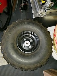 ATV wheels, tires and hubs (4)