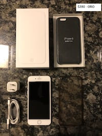 IPHONE 6 UNLOCKED 16 GB + EXTRAS – GREAT CONDITION.