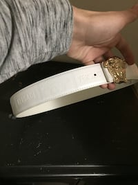monogrammed white Versace leather belt Halifax, B3S 1R5
