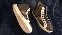 Brand new black-and-white hightop sneakers Bakersfield, 93308