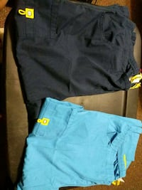 two blue and black shorts El Paso, 79928