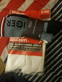 2 pack socks Wilson and Tommy Hilfiger  Washington, 20019