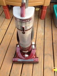 red and gray upright vacuum cleaner Calgary, T3J 1S7