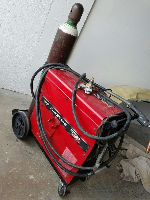 Mig Welder For Sale >> Lincoln Power Mig 215 Mig Welder