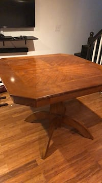 rectangular brown wooden dining table Washington, 20019