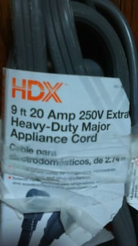 Heavy Duty appliance cord 9 feet