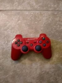 red Sony PS3 game controller Bondurant, 50035