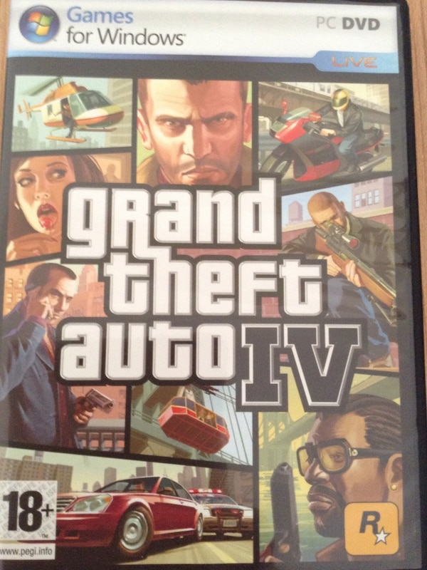 Used Grand Theft Auto 4 Gta 4 For Sale In Devlet Letgo