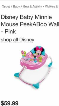 baby's pink and blue activity saucer El Paso, 79930