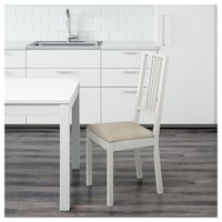 BÖRJE White Dining Chair (IKEA) VANCOUVER