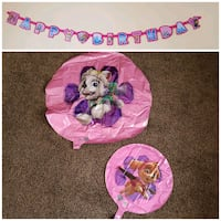 Pink Paw Patrol Party Decorations