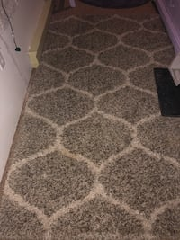Gray and White Shag Rug ,7.6x5.5 ,Great Condition,doesn't work for me Danbury, 06811