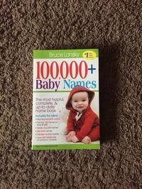 Baby Name Book Coon Rapids, 55433