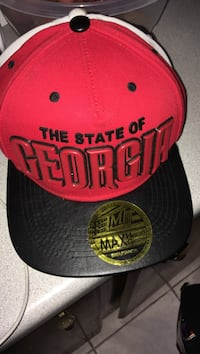 red and black Chicago Bulls fitted cap Robards, 42452