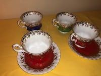 Tea cups and saucers Best offer Toronto, M9V 1M9