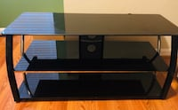 Beautiful black glass TV Stand  Suitland, 20746