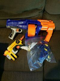 Nerf guns with foam bullets