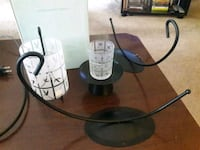 PartyLite Bamboo lantern and votive candle holder Alexandria, 22309