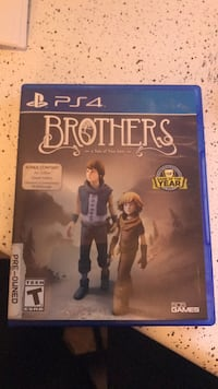 Brothers PS4 game Pflugerville, 78660