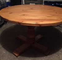 All wood table  Mississauga, L5C 1M5