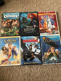 Great collection of family dvds