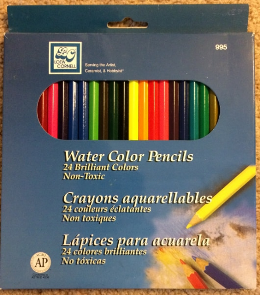 Loew Cornell 995A Watercolor Pencils Pack of 24